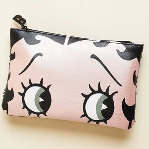 NWOT Limited Edition Betty Boop Cosmetic Pouch